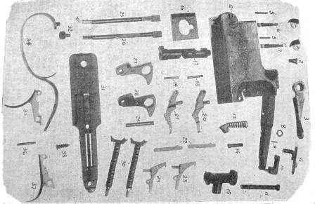 детали ружья иж 12