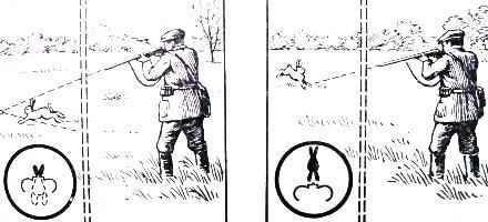 Как стрелять утку в лет картинки